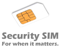 Text / SMS Security SIM